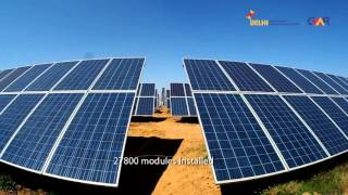 Download Delhi Airport enhances capacity of India's 1st Solar Power Plant Video