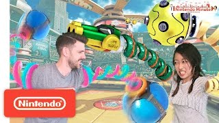 Download ARMS New Character Battle – Nintendo Minute Video