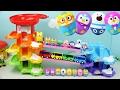 Download 뽀로로 미끄럼틀 놀이터 데굴데굴 뽀로로 레인보우 타워세트 장난감놀이 Rainbow Slide Toys Learn Colors Video