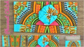 Download Dashiki Placemat Clutch/No Sewing/Amari Creations Video