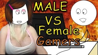 Download Male vs Female Gamers (Boy vs Girl Gamers) Video