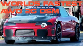 Download Worlds First 7 Second AWD 2G DSM Boostin Performance's Red Demon Video