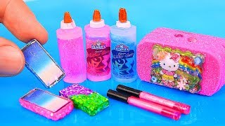 Download 9 DIY Barbie Miniatures: Toy dollhouse, miniature mobile phone, and more! Video