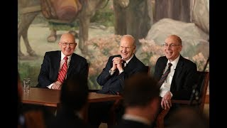Download First Presidency News Conference Video