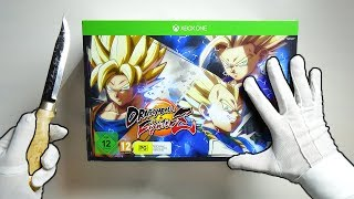 Download DRAGON BALL FIGHTERZ COLLECTORZ EDITION UNBOXING! Goku Super Saiyan Statue Collector's Video