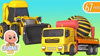 Download Excavator videos for children | Construction trucks for children | Trucks for children - Jugnu kids Video