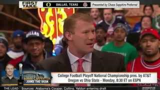Download Ohio State Buckeyes vs Oregon Ducks! ESPN First Take Video