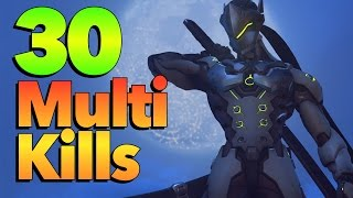 Download 30 EPIC MULTI KILLS - Overwatch Montage Video
