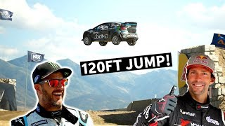 Download Most Insane Racetrack in the World: Ken Block and Travis Pastrana at Nitro World Games! Video