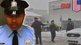 Download Officer killed on duty: Officer Robert Wilson III shot during armed robbery, Philadelphia GameStop Video