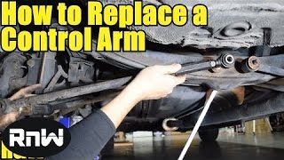 Download How to Remove and Replace a Control Arm - Also How to Remove Rusty Bolts Video