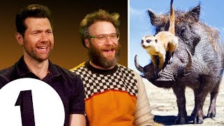 Download ″There are THREE Lion Kings?!″ Seth Rogen & Billy Eichner on Timon & Pumbaa's other movies. Video