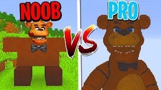 Download Minecraft NOOB vs. PRO: FNAF FIVE NIGHTS AT FREDDY'S in Minecraft! Video