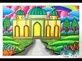 Download CARA GRADASI WARNA EP 132 ″ TEMA GAMBAR RUMAH IBADAH - MASJID ″ Video