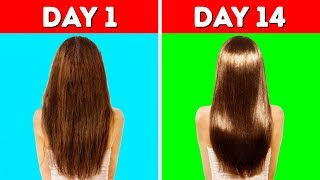 Download 22 HACKS YOU NEED TO KNOW TO MAKE YOUR HAIR LONG AND HEALTHY Video