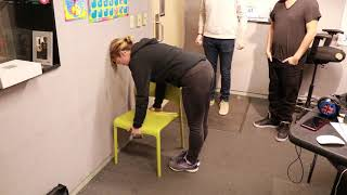 Download Brooke and Jose Try The Chair Challenge Video