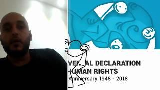 Download Mounir Al Ghazal, Libya, reading article 3 of the Universal Declaration of Human Rights Video