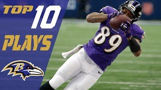 Download Ravens Top 10 Plays of the 2016 Season | NFL Highlights Video