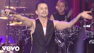 Download Depeche Mode - Enjoy The Silence (Live on Letterman) Video