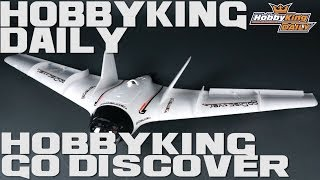 Download HobbyKing Daily - Go Discover PnF 1600mm FPV flying wing. Video