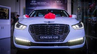 Download Details of Genesis G90 - large luxury sedan from Korea Video