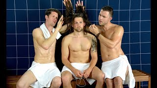 Download HOT GUYS WITH LONG HAIR - Steam Room Stories Video