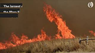 Download This wildfire in Oklahoma is so big you can see it from space Video