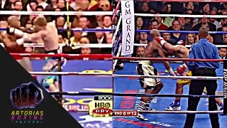 Download Manny Pacquiao Testing Mayweather's Chin Video