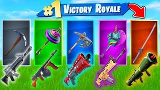 Download The *RANDOM* PICKAXE Challenge In Fortnite Battle Royale! Video