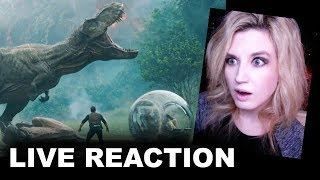Download Jurassic World 2 Fallen Kingdom Trailer REACTION Video
