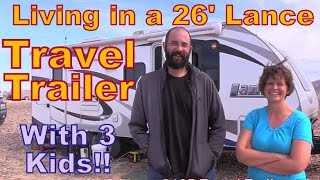 Download Family Living in a Lance 26″ Travel Trailer Tour Video