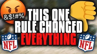 Download How One STUPID Rule Changed the Course Of NFL History Forever Video