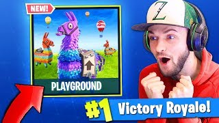 Download NEW *PLAYGROUND* MODE in Fortnite: Battle Royale! (AMAZING) Video