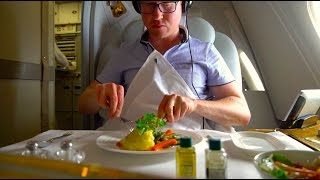 Download Brand New Emirates A380 FIRST Class Review - Christchurch to Sydney (A6-EUK) Video
