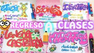 Download ideas para marcar tus cuadernos fácil y bonito regreso a clases-letra timoteo # 3- mafe cavieles Video
