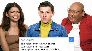 Download Tom Holland, Zendaya & Jacob Batalon Answer the Web's Most Searched Questions | WIRED Video
