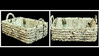 Download How to make a Newspaper Basket Video