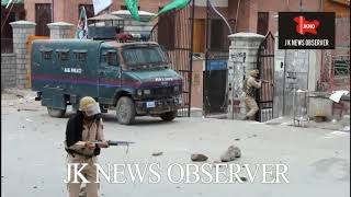 Download Clashes erupted after Friday Prayer at Jamia Masjid srinagar kashmir. JKNO Video