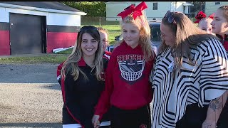 Download Struthers cheerleader with disabilities wins first place in cheerleading competition Video