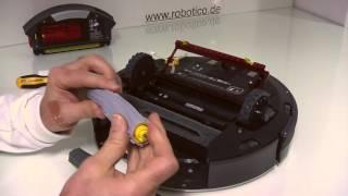 Download robotico Wartungsvideo iRobot Roomba 886 Saugroboter wöchentliche Pflege Video
