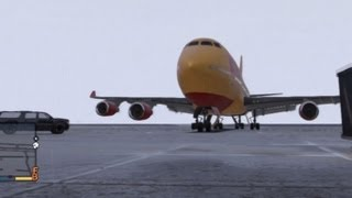 Download GTA V: How To Steal A Jumbo Plane (Biggest Plane In The Game) Video