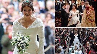 Download Princess Eugenie wedding: attend Prince Harry, Meghan Markle, William and Kate Middleton Video