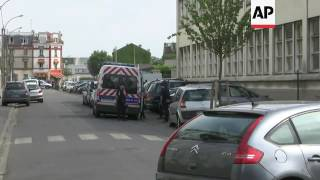 Download French police raid site in northwstern Paris Video