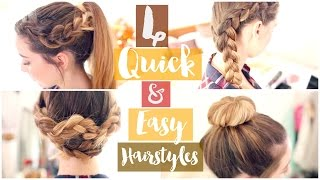 Download How To: 4 Quick & Easy Hairstyles | Zoella ad Video