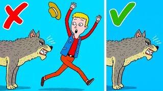 Download 6 Ways to Survive Wild Animal Attacks Video