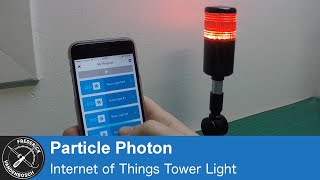 Download Modifying a simple 12V Tower Light into a 5V IoT Light Video