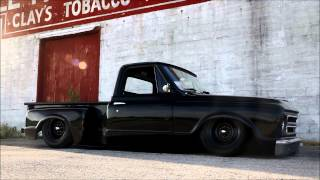 Download 1967 Chevy Hot Rod Patina C10 Slammed on Ground! ″Coaltrain″, For Sale Video