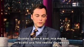 Download Jim Parsons @ David Letterman Show 25/04/13 SUB ITA Video