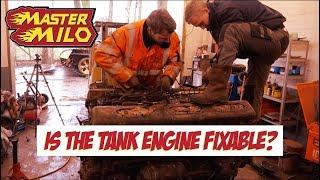 Download Tank engine teardown Video