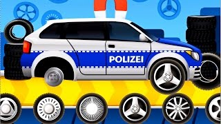 Download Dream Cars Factory Police Car - Best iOS Game App for Kids Video